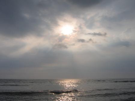 Loojang India ookeani kohal.