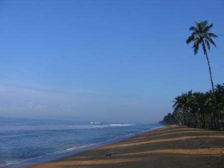 Wadduwa rand hommikupäikeses.